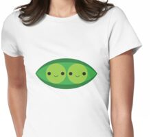 Two Peas in a Pod Womens Fitted T-Shirt