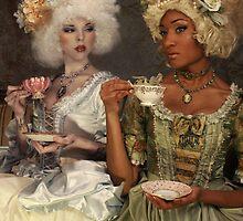 Tea Party II by PorcelainPoet