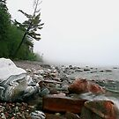 Foggy morning Lake Superior Ontario by Eros Fiacconi (Sooboy)