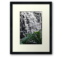 The Dip Falls Framed Print