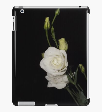 White stems iPad Case/Skin