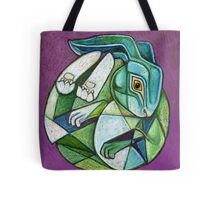 The Hare in the Moon Tote Bag