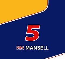 F1 Legends - Nigel Mansell [Williams] by loxley108