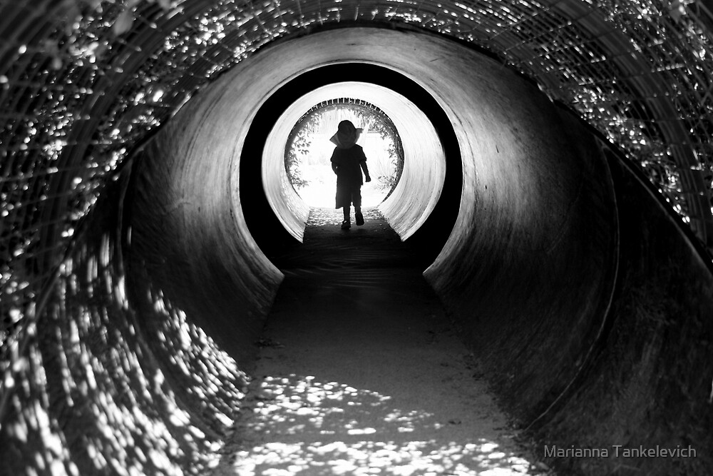 The tunnel by Marianna Tankelevich