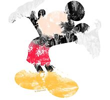 Mickey Mouse  by Katie Lou