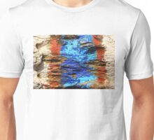Textured wood - Vintage wallpaper Unisex T-Shirt