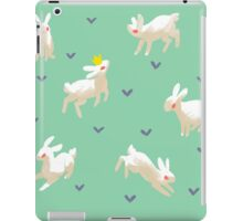 King Rabbit iPad Case/Skin