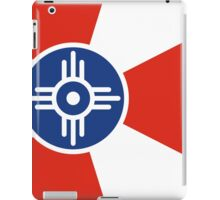 Wichita Kansas Flag USA T-Shirt Cell Phone Case iPad Case/Skin