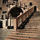Staircase in Verona, Italy by Laura Cooper