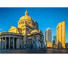 Boston Sculptors Gallery , Christian Science Plaza , Boston, MA Photographic Print
