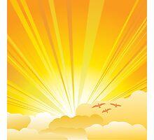 Sunny card Photographic Print