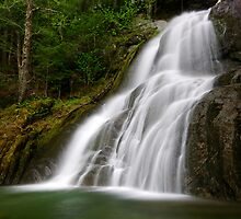 Moss Glen Falls - A Side View by Stephen Beattie
