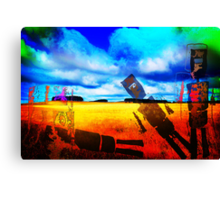 """""""SUCH IS LIFE"""" Canvas Print"""