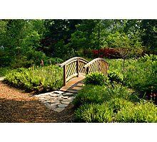The Bridge At Brookside Gardens Photographic Print