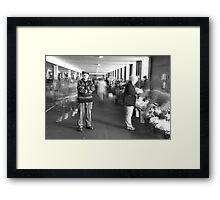King of the market's, My Dad. Framed Print