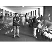 King of the market's, My Dad. Photographic Print