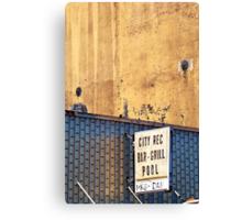 city rec Canvas Print