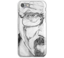 Walter White/Bryan Cranston Portrait  iPhone Case/Skin