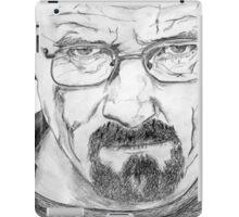 Walter White/Bryan Cranston Portrait  iPad Case/Skin