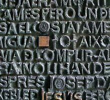 Bronze Door, La Sagrada  Familia, Barcelona by AlainKhouri