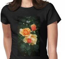 Orange Roses Womens Fitted T-Shirt