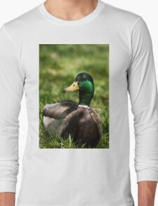 Mallard - Fletcher's Garden Long Sleeve T-Shirt