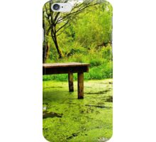 tranquil in green iPhone Case/Skin