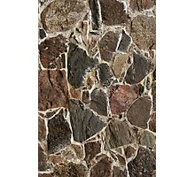 stone wall texture / background Photographic Print