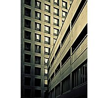 Highrise and lowrise (duotone) Photographic Print