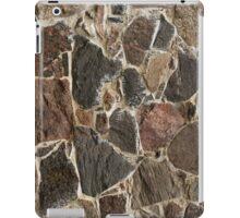 stone wall texture / background iPad Case/Skin