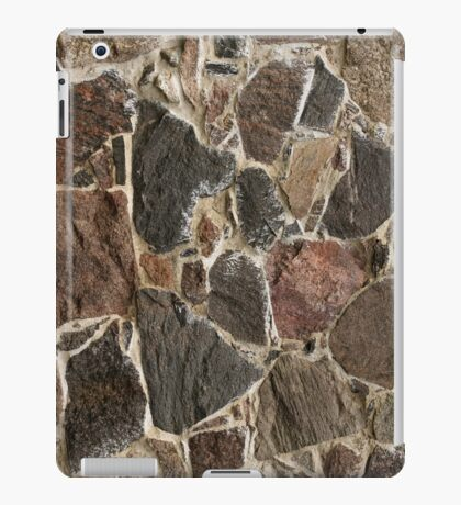 stone wall texture / background iPad Case/Skin