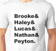 OTH Main Characters Unisex T-Shirt