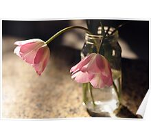 Tulips in the kitchen ii Poster