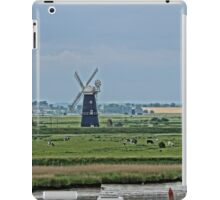 Illustrated view of Berney Arms Windmill iPad Case/Skin