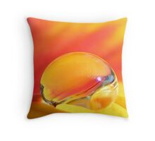 Beauty in a Drop Throw Pillow