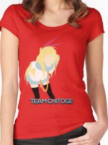 Nisekoi - Team Chitoge V2 Women's Fitted Scoop T-Shirt
