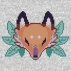 Pixel Fox by carbatine