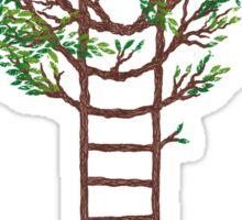 Ladder Tree Sticker