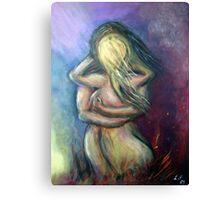 Love Endures Crisis Canvas Print