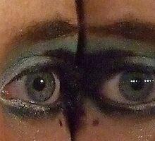 Mirrored Eyes! by Bernie Stronner