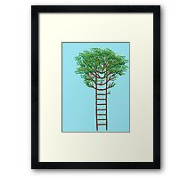 Ladder Tree Framed Print
