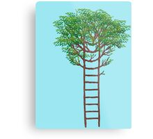 Ladder Tree Metal Print