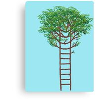 Ladder Tree Canvas Print