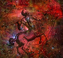 When The Stars Are Right - The Lambda Centauri Nebula in Centaurus by Richard Maier