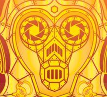 Steampunk C-3PO Sticker
