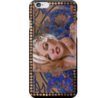 MM mucha 2 blue iPhone Case/Skin
