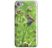 Sparrow on the Prairie iPhone Case/Skin