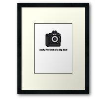 8 bit Pro DSLR Big Deal Framed Print