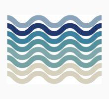 Beach- Sand, Ocean, Sky Color Theme One Piece - Long Sleeve