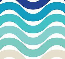 Beach- Sand, Ocean, Sky Color Theme by ohaniki